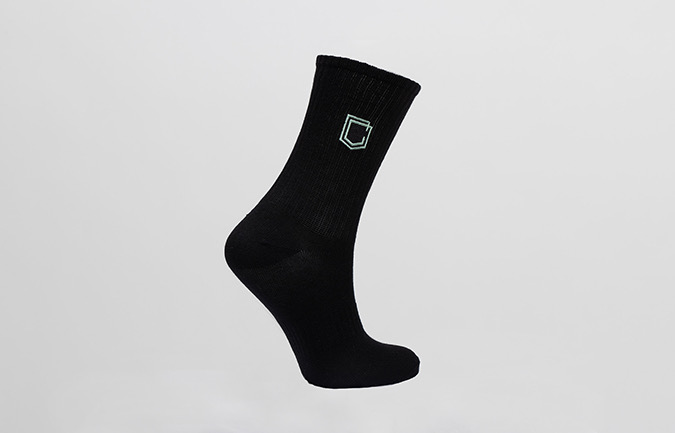 COMMENCAL KIDS SHIELD SOCKS HERITAGE GREEN