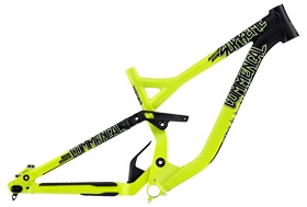 FRAME SUPREME DH V3 COMP 650B YELLOW 2015