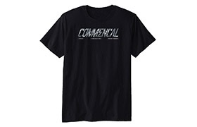 COMMENCAL CORPORATE T-SHIRT BLACK 2019