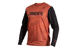 COMMENCAL LONG SLEEVE JERSEY OCHRE