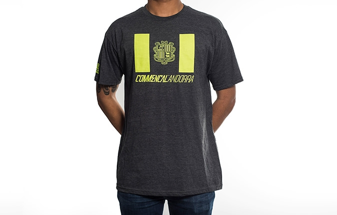 T-SHIRT COMMENCAL ANDORRA 2016