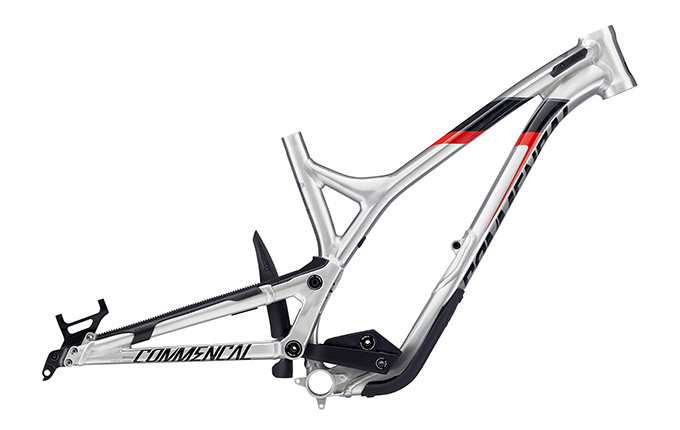 FRAME SUPREME DH V4.2 650B BRUSHED RED 2018