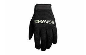 COMMENCAL VELCRO FASTEN GLOVES BLACK