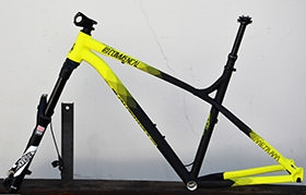 FRAME KIT META HT AM YELLOW (XL) Kit