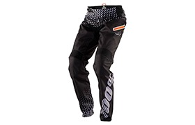 100% KIDS R-CORE SUPRA DH PANTS BLACK/GREY 2018