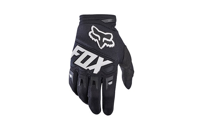 FOX DIRTPAW RACE GLOVES BLACK 2017