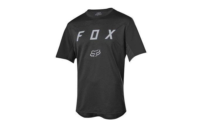 FOX FLEXAIR SHORT SLEEVE JERSEY BLACK 2019