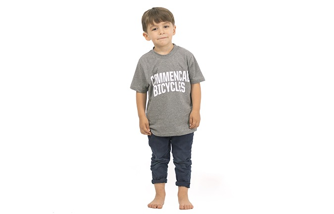 COMMENCAL KIDS T-SHIRT GREY