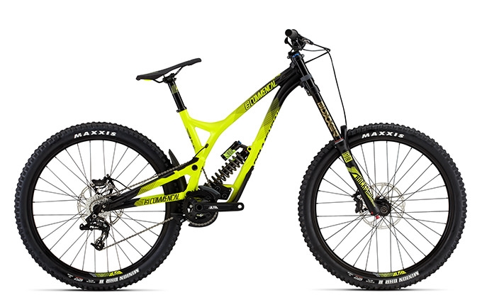 SUPREME DH V4 ORIGIN ROCKSHOX 650B YELLOW 2016