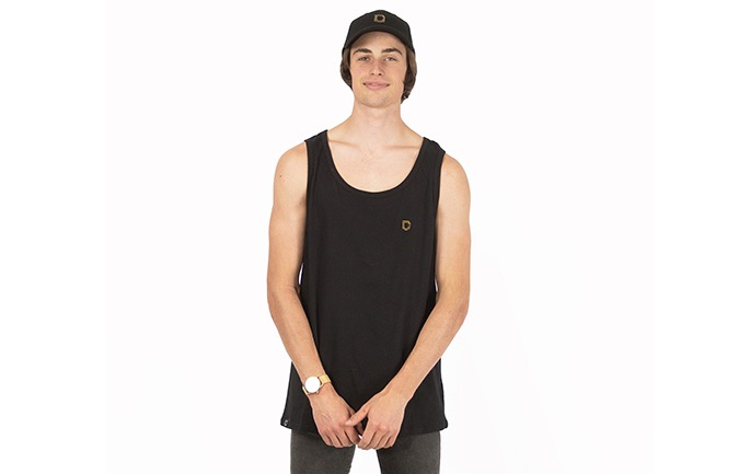 COMMENCAL TANK TOP BLACK