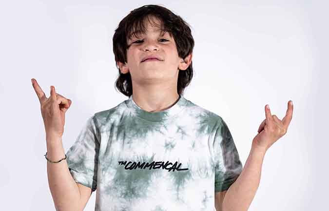 COMMENCAL KIDS T-SHIRT TIE AND DYE