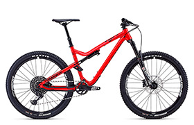 META TRAIL V4.2 ESSENTIAL 650B  SHINY RED 2018