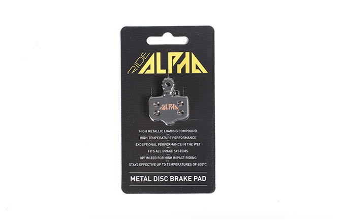 RIDE ALPHA SINTERED BRAKE PADS FOR AVID ELIXIR R/CR/3/5/XX