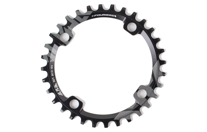 RIDE ALPHA 32T NARROW WIDE CHAIN RING 2016
