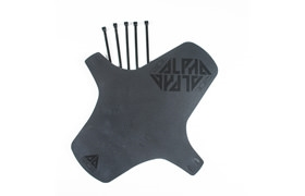RIDE ALPHA BLACK MUDGUARD