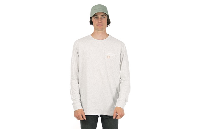COMMENCAL LONG SLEEVE T-SHIRT LIGHT GREY 2020