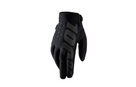 100% BRISKER COLD WEATHER GLOVES BLACK