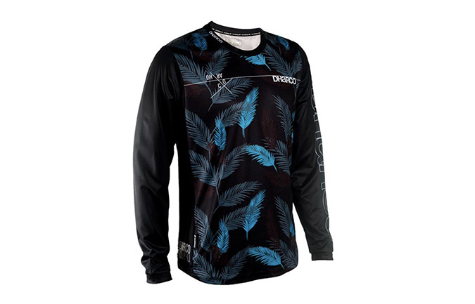 DHARCO LONG SLEEVE ATOLL LEAVES JERSEY 2018