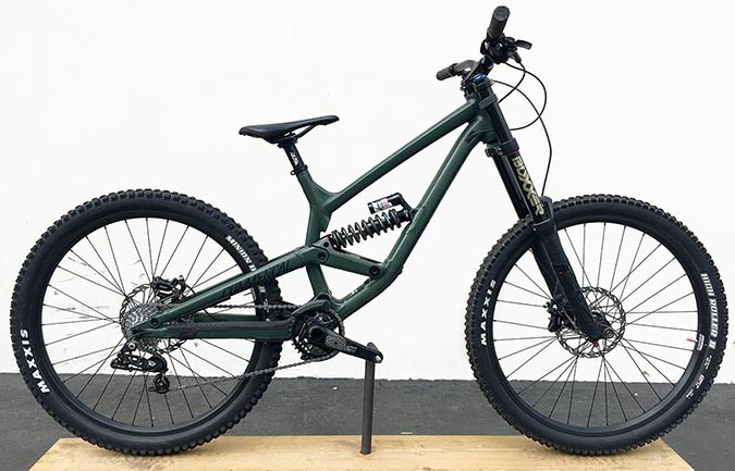 FURIOUS ORIGIN 650B GREEN 2017 (S)