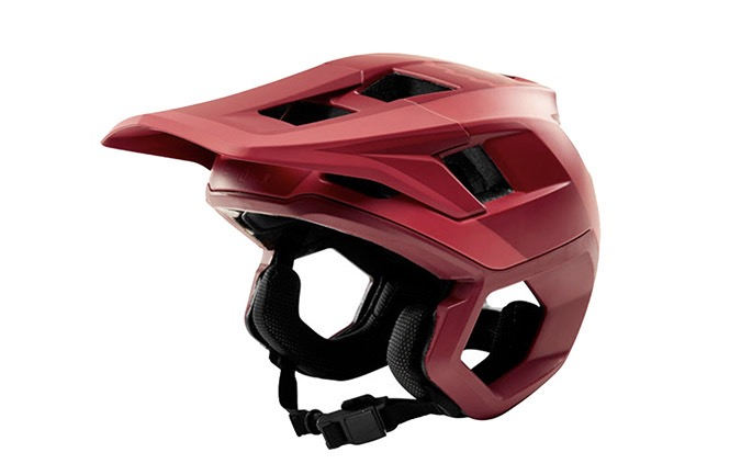 FOX DROPFRAME HELMET RIO RED 2019