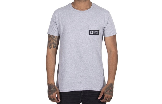 COMMENCAL BOX T-SHIRT HEATHER GREY 2019