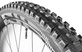 E13 TRS+ 27,5X2.35 DUAL COMPOUND 60 TPI TYRE