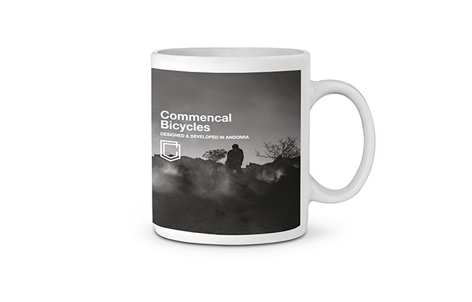 COMMENCAL SHAPERS MUG WHITE