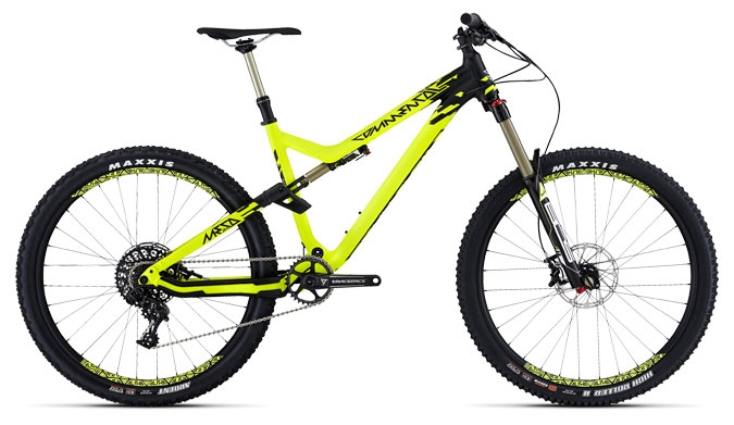 META AM V4 RACE 650B BOS YELLOW 2015
