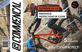 KIT CLEARPROTECT CUSTOM FOR SUPREME DH V4 MATT