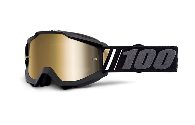 100% ACCURI OFF GOGGLES - TRUE GOLD MIRROR LENS 2020