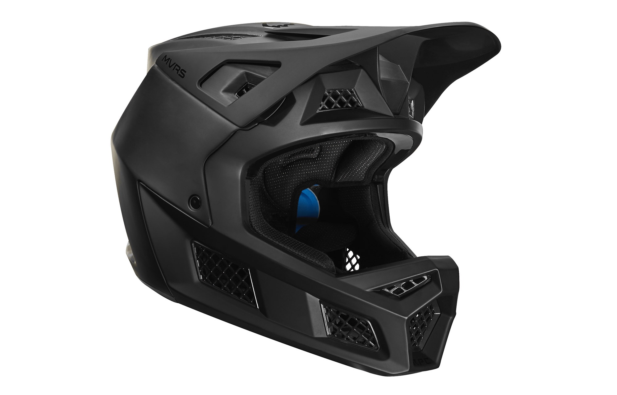 25645-255 Matte Black Replacement Visor Fox Rampage Pro Carbon Matte Helmet