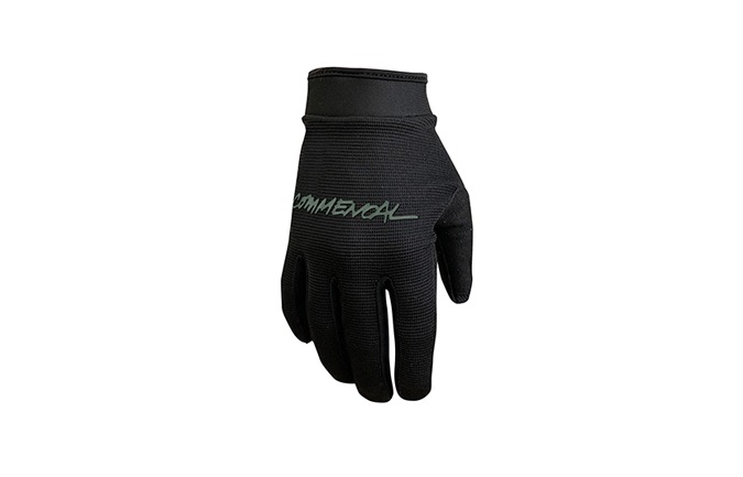 COMMENCAL KIDS VELCRO FASTEN GLOVES BLACK