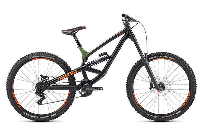 FURIOUS BRITISH COLUMBIA 650B GREEN/ORANGE/BLACK 2018