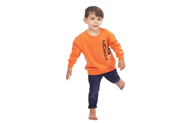 COMMENCAL KIDS CREWNECK ORANGE