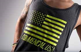 TANK TOP YELLOW COMMENCAL USA 2016