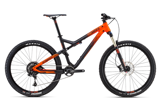 META TRAIL RIDE 650B ORANGE 2016