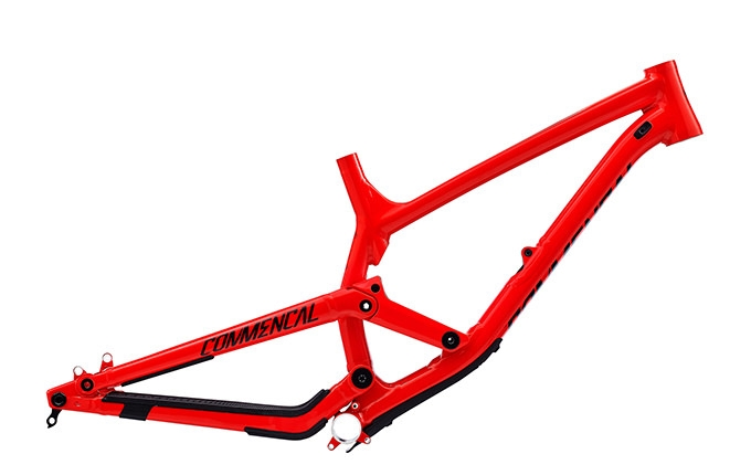 FRAME FURIOUS SHINY RED  2017