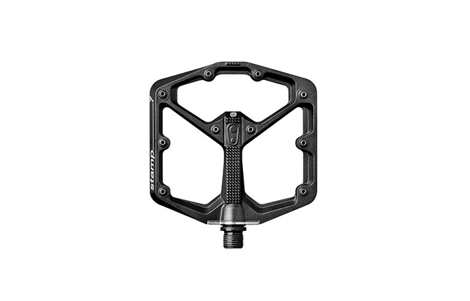 CRANKBROTHERS STAMP 7 LARGE BLACK PEDALS