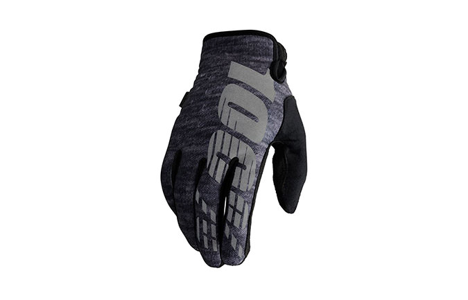 100% BRISKER COLD WEATHER GLOVES HEATHER 2018