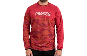 LONG SLEEVE TEAM REPLICA JERSEY RED 2018