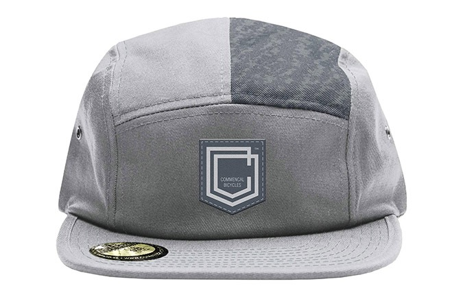 COMMENCAL SHIELD FIVE PANEL CAP GREY 2019