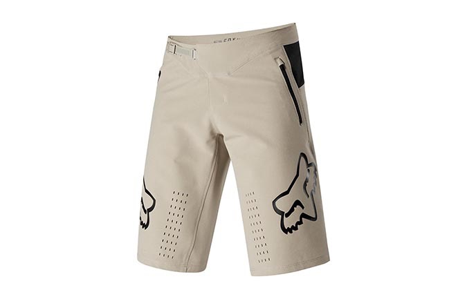 FOX DEFEND SHORTS LIGHT BEIGE 2019
