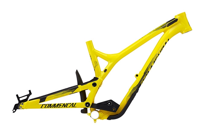 FRAME SUPREME DH V4.2 650B YELLOW 2017