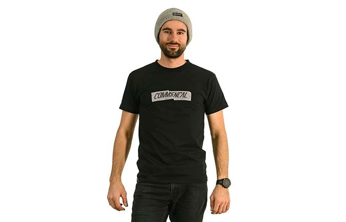 COMMENCAL T-SHIRT BLACK 2020