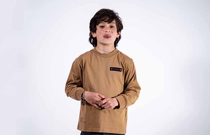 COMMENCAL KIDS LONG SLEEVE T-SHIRT DUST