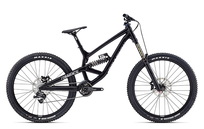 FURIOUS ORIGIN 650B BLACK 2017