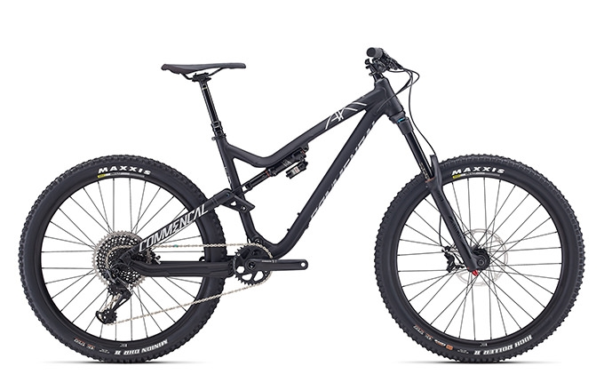 META AM V4.2 RACE EAGLE 650B BLACK 2017