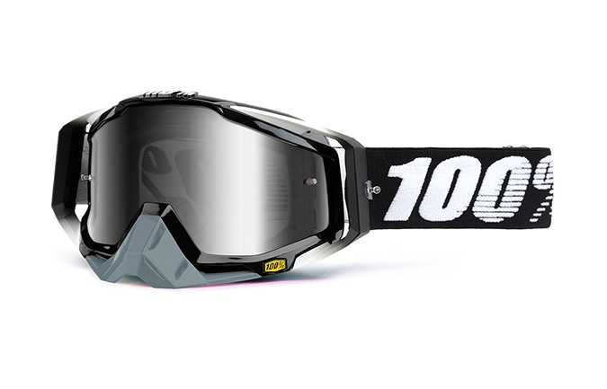 100% GOGGLE RACECRAFT ABYSS BLACK