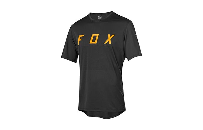 FOX RANGER SHORT SLEEVE JERSEY BLACK 2019