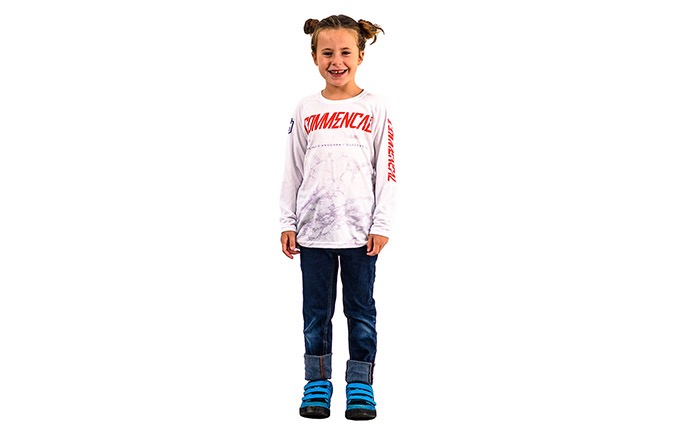 KIDS LONG SLEEVE JERSEY POMPON REPLICA